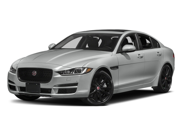 Indus Silver 2018 Jaguar XE Pictures XE 35t Premium RWD *Ltd Avail* photos front view