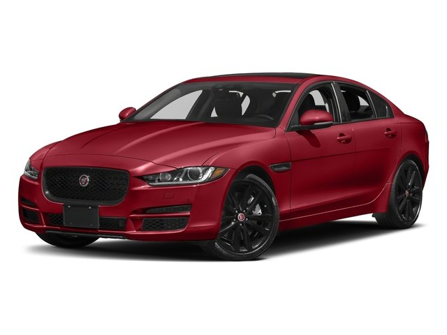 Firenze Red 2018 Jaguar XE Pictures XE 35t Premium RWD *Ltd Avail* photos front view