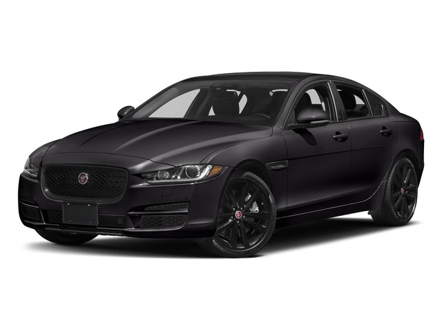 Santorini Black 2018 Jaguar XE Pictures XE 35t Premium RWD *Ltd Avail* photos front view
