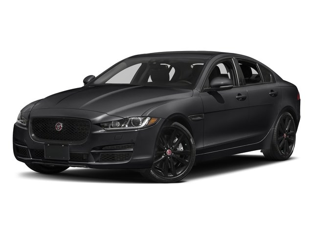 Narvik Black 2018 Jaguar XE Pictures XE 35t Premium RWD *Ltd Avail* photos front view