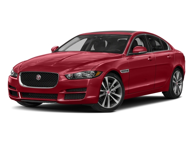 Firenze Red 2018 Jaguar XE Pictures XE 20d Prestige AWD photos front view