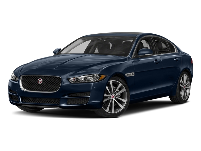 Loire Blue 2018 Jaguar XE Pictures XE 20d Prestige AWD photos front view