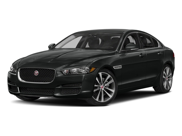 Narvik Black 2018 Jaguar XE Pictures XE 20d Prestige AWD photos front view