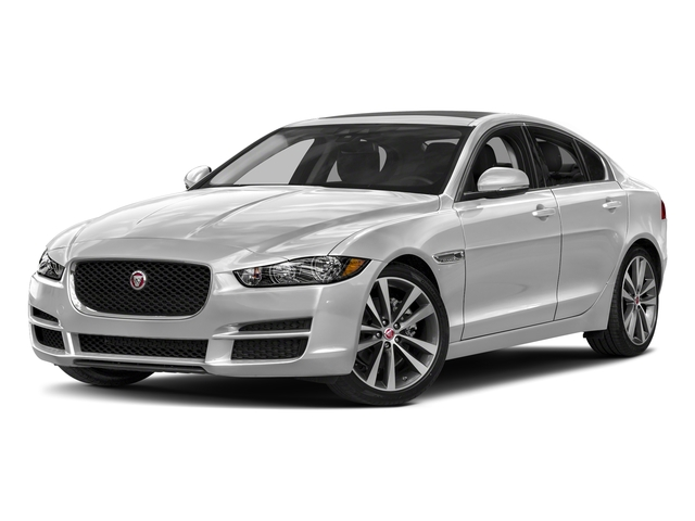 Silicon Silver 2018 Jaguar XE Pictures XE 20d Prestige AWD photos front view