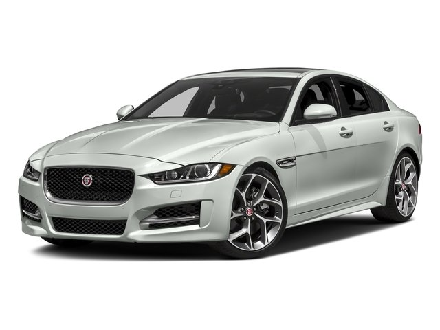 Fuji White 2018 Jaguar XE Pictures XE 35t R-Sport AWD *Ltd Avail* photos front view