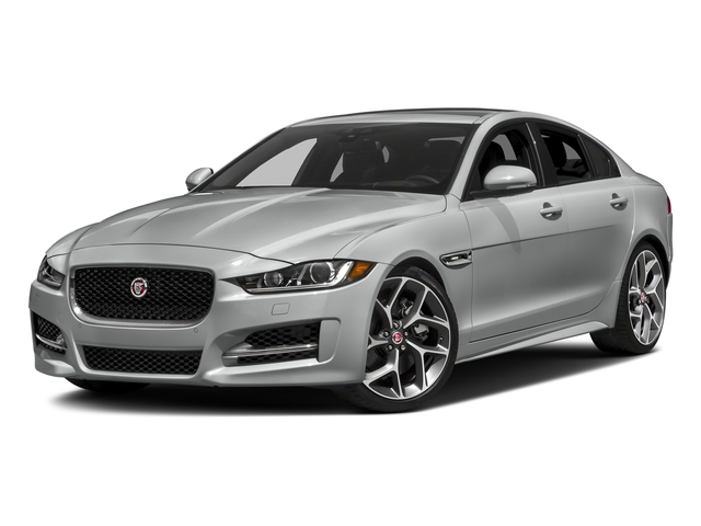 Indus Silver 2018 Jaguar XE Pictures XE 35t R-Sport AWD *Ltd Avail* photos front view