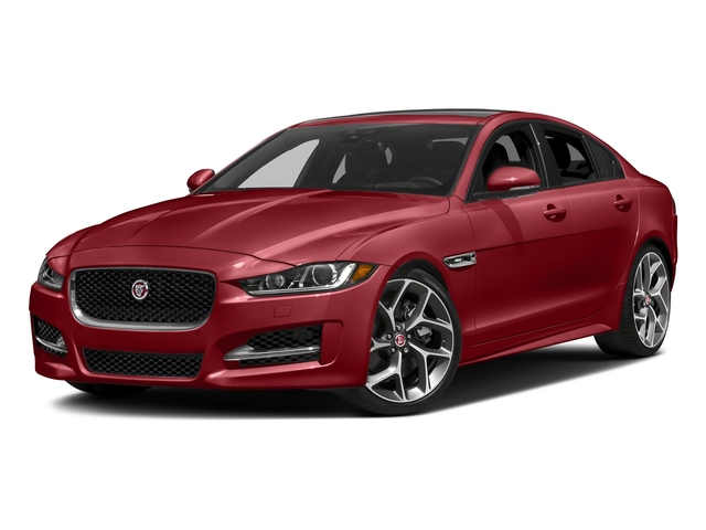 Firenze Red 2018 Jaguar XE Pictures XE 35t R-Sport AWD *Ltd Avail* photos front view