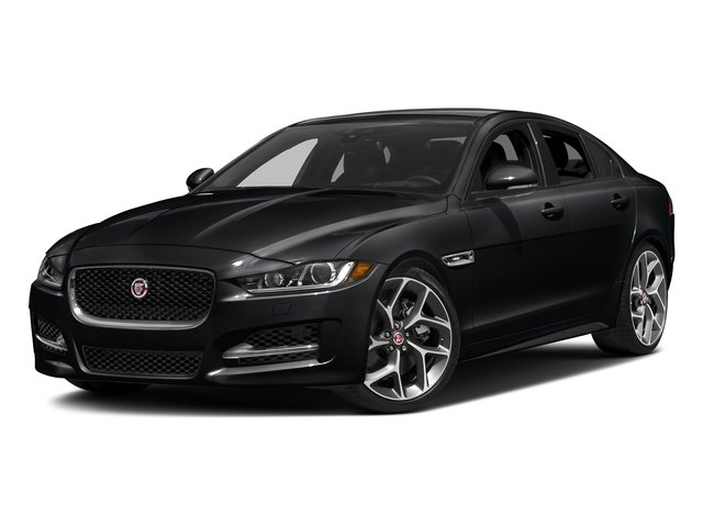 Santorini Black 2018 Jaguar XE Pictures XE 35t R-Sport AWD *Ltd Avail* photos front view