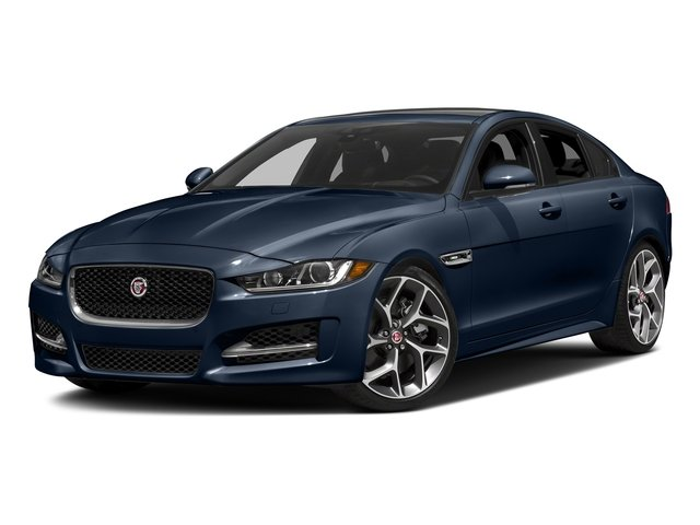 Loire Blue 2018 Jaguar XE Pictures XE 35t R-Sport AWD *Ltd Avail* photos front view