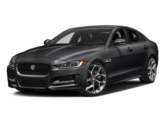 Narvik Black 2018 Jaguar XE Pictures XE 35t R-Sport AWD *Ltd Avail* photos front view
