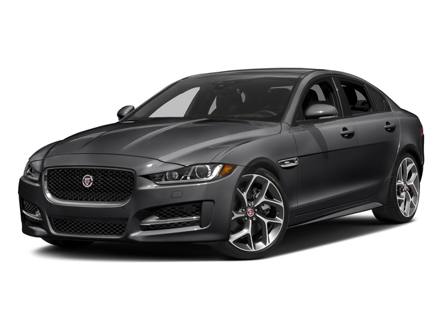 Carpathian Grey 2018 Jaguar XE Pictures XE 35t R-Sport AWD *Ltd Avail* photos front view