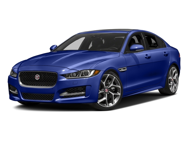 Caesium Blue 2018 Jaguar XE Pictures XE 35t R-Sport AWD *Ltd Avail* photos front view