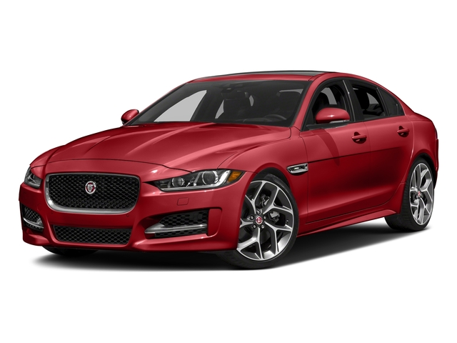 Caldera Red 2018 Jaguar XE Pictures XE 25t R-Sport AWD photos front view