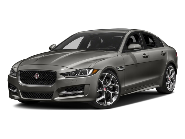 Silicon Silver 2018 Jaguar XE Pictures XE 35t R-Sport AWD *Ltd Avail* photos front view