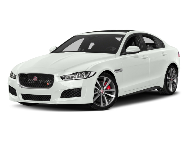 Fuji White 2018 Jaguar XE Pictures XE S AWD photos front view