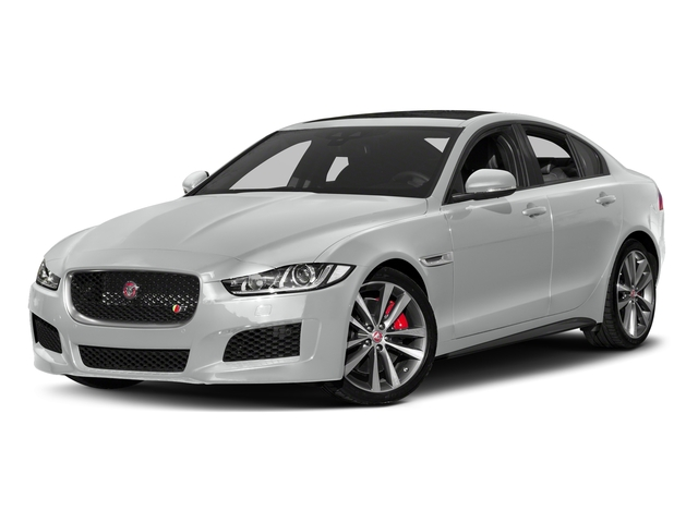 Indus Silver 2018 Jaguar XE Pictures XE S AWD photos front view