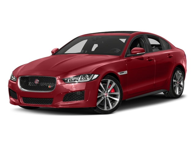 Firenze Red 2018 Jaguar XE Pictures XE S AWD photos front view