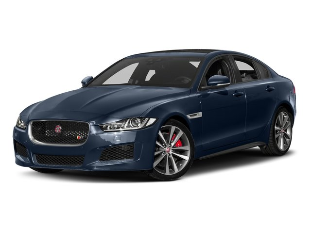 Loire Blue 2018 Jaguar XE Pictures XE S AWD photos front view