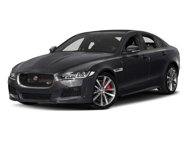 Narvik Black 2018 Jaguar XE Pictures XE S AWD photos front view