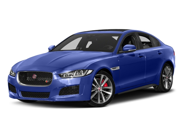 Caesium Blue 2018 Jaguar XE Pictures XE S AWD photos front view