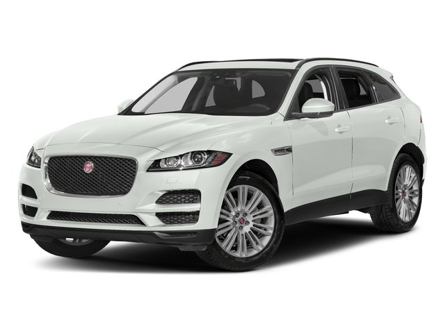 Fuji White 2018 Jaguar F-PACE Pictures F-PACE 20d Prestige AWD photos front view