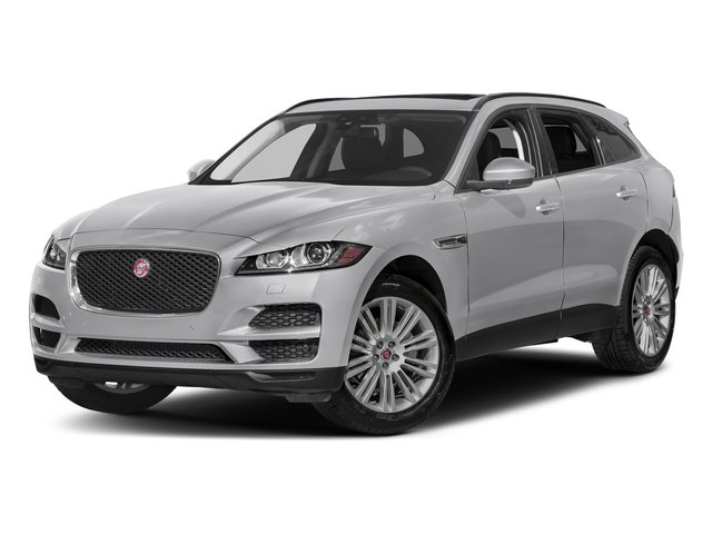 Yulong White Metallic 2018 Jaguar F-PACE Pictures F-PACE 20d Prestige AWD photos front view