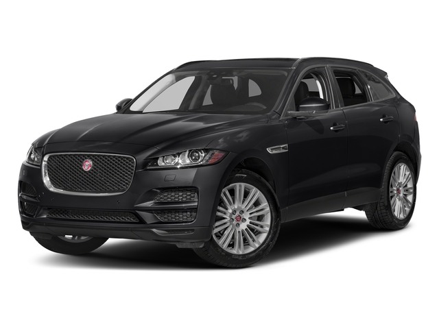 Narvik Black 2018 Jaguar F-PACE Pictures F-PACE 20d Prestige AWD photos front view