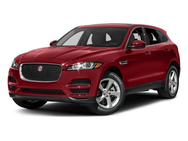 Firenze Red Metallic 2018 Jaguar F-PACE Pictures F-PACE 35t Prestige AWD photos front view