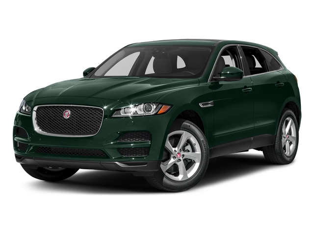 British Racing Green Metallic 2018 Jaguar F-PACE Pictures F-PACE 35t Prestige AWD photos front view