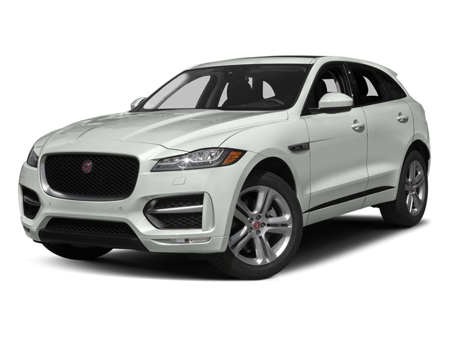Fuji White 2018 Jaguar F-PACE Pictures F-PACE 35t R-Sport AWD photos front view