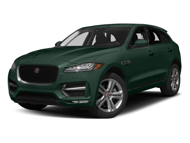 British Racing Green Metallic 2018 Jaguar F-PACE Pictures F-PACE 35t R-Sport AWD photos front view