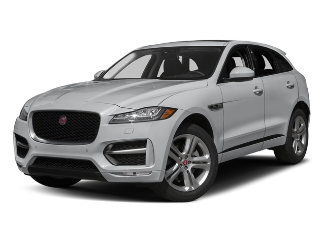 Yulong White Metallic 2018 Jaguar F-PACE Pictures F-PACE 35t R-Sport AWD photos front view