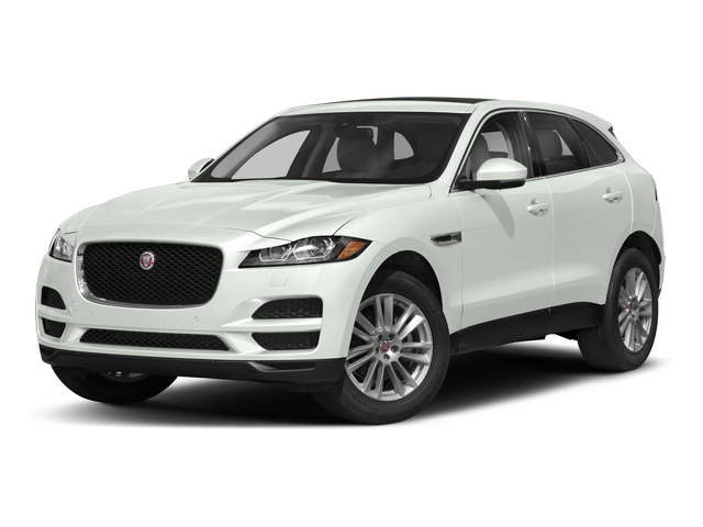 Fuji White 2018 Jaguar F-PACE Pictures F-PACE 25t Premium AWD photos front view