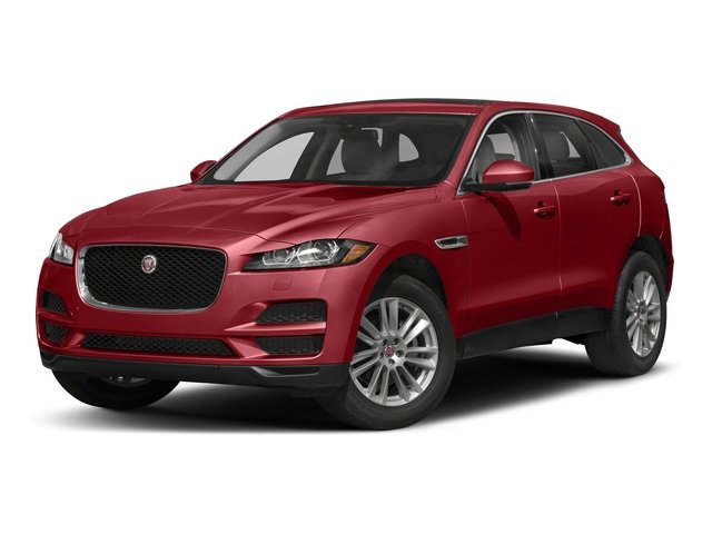 Firenze Red Metallic 2018 Jaguar F-PACE Pictures F-PACE 25t Premium AWD photos front view
