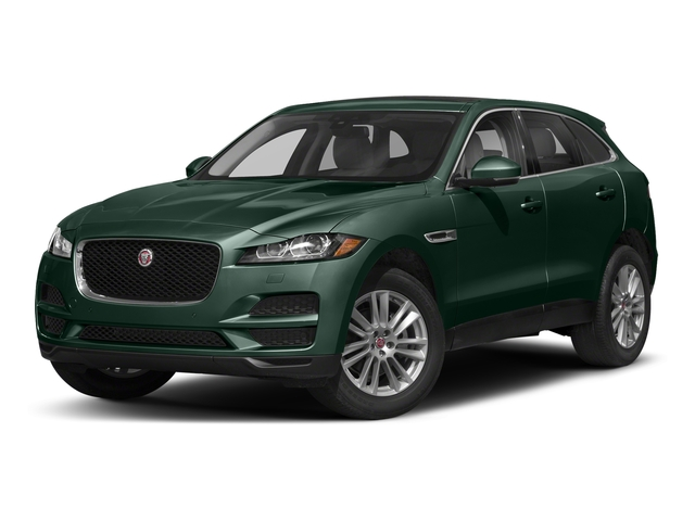British Racing Green Metallic 2018 Jaguar F-PACE Pictures F-PACE 25t Prestige AWD photos front view