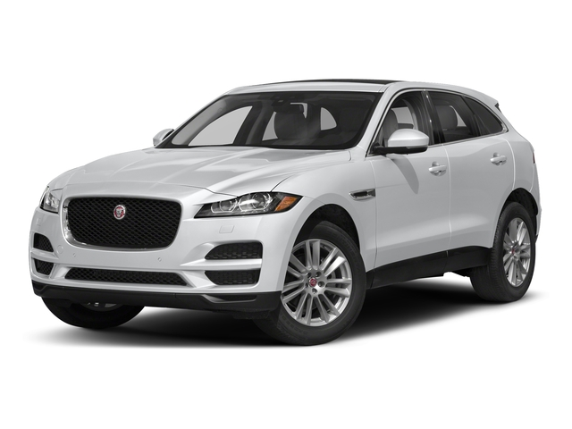 Yulong White Metallic 2018 Jaguar F-PACE Pictures F-PACE 25t Premium AWD photos front view