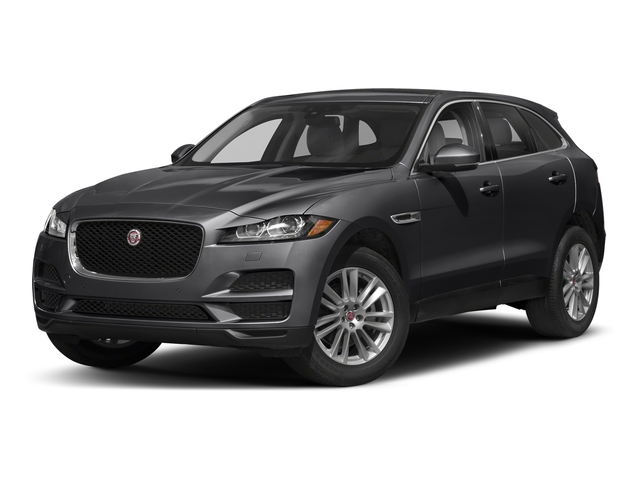 Carpathian Grey 2018 Jaguar F-PACE Pictures F-PACE 25t Premium AWD photos front view