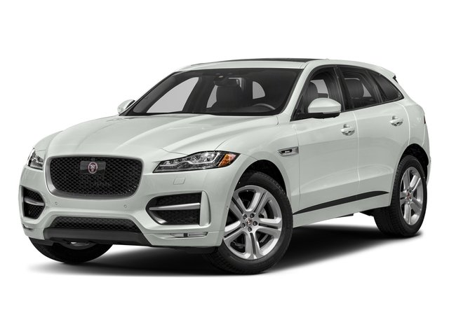 Fuji White 2018 Jaguar F-PACE Pictures F-PACE 25t R-Sport AWD photos front view