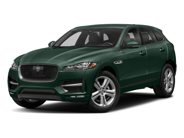 British Racing Green Metallic 2018 Jaguar F-PACE Pictures F-PACE 25t R-Sport AWD photos front view