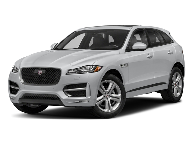 Yulong White Metallic 2018 Jaguar F-PACE Pictures F-PACE 25t R-Sport AWD photos front view