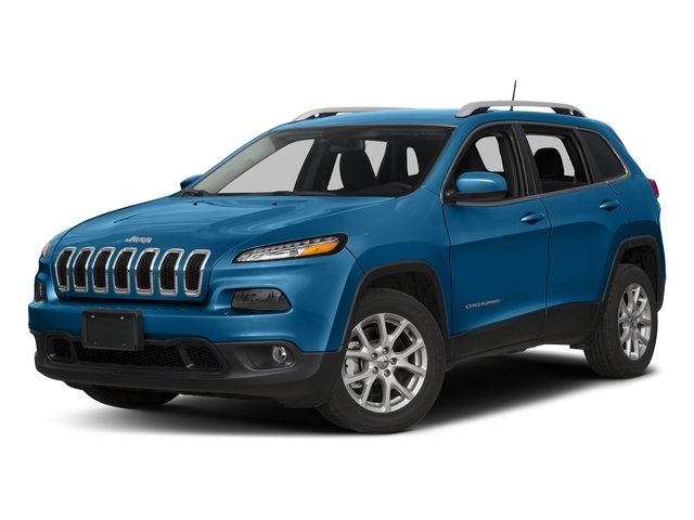Hydro Blue Pearlcoat 2018 Jeep Cherokee Pictures Cherokee Utility 4D Latitude 4WD photos front view