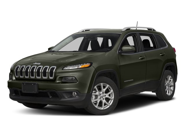 Olive Green Pearlcoat 2018 Jeep Cherokee Pictures Cherokee Utility 4D Latitude Plus 4WD photos front view