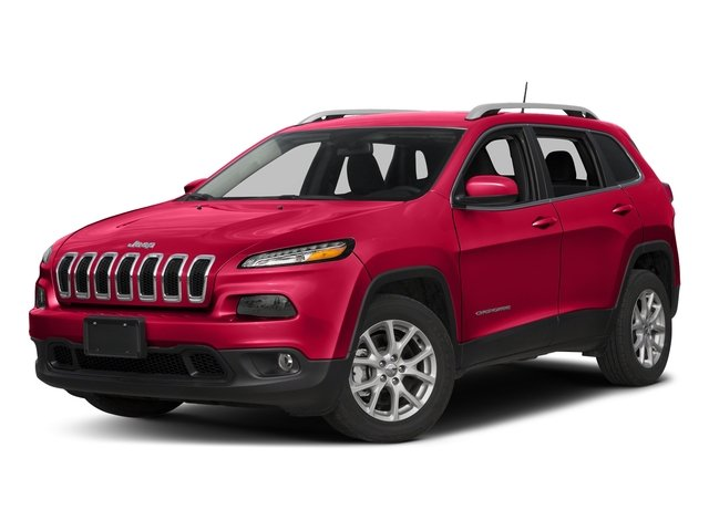 Firecracker Red Clearcoat 2018 Jeep Cherokee Pictures Cherokee Utility 4D Latitude 4WD photos front view