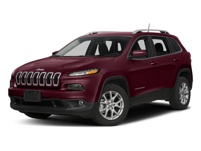 Velvet Red Pearlcoat 2018 Jeep Cherokee Pictures Cherokee Latitude Plus FWD photos front view