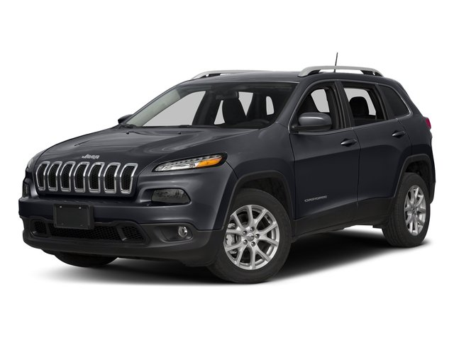 Rhino Clearcoat 2018 Jeep Cherokee Pictures Cherokee Utility 4D Latitude Plus 4WD photos front view