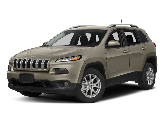 Light Brownstone Pearlcoat 2018 Jeep Cherokee Pictures Cherokee Utility 4D Latitude Plus 4WD photos front view