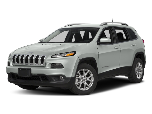 Bright White Clearcoat 2018 Jeep Cherokee Pictures Cherokee Utility 4D Latitude Plus 4WD photos front view