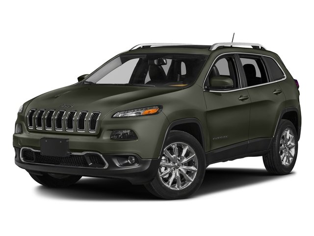 Olive Green Pearlcoat 2018 Jeep Cherokee Pictures Cherokee Utility 4D Limited 2WD photos front view