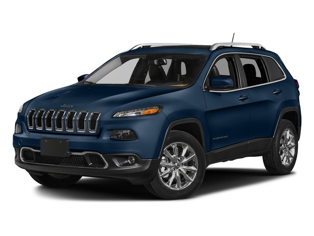 Patriot Blue Pearlcoat 2018 Jeep Cherokee Pictures Cherokee Limited FWD photos front view