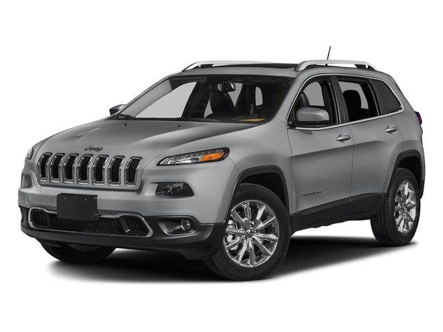 Billet Silver Metallic Clearcoat 2018 Jeep Cherokee Pictures Cherokee Utility 4D Limited 2WD photos front view